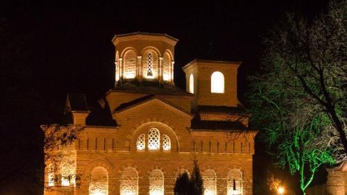 """Художествено-архитектурно осветление на църква """"Свети Димитър"""", град Велико Търново / Художествено осветление"""