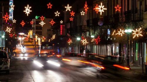 Коледна украса - град Велико Търново / Празнична украса