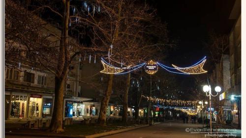 Коледна украса - град Враца / Празнична украса