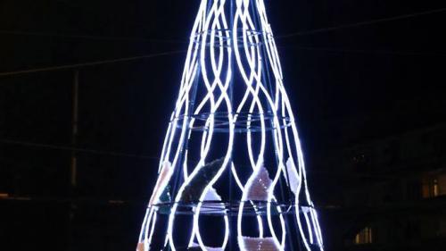 Коледна украса - град Стара Загора / Празнична украса