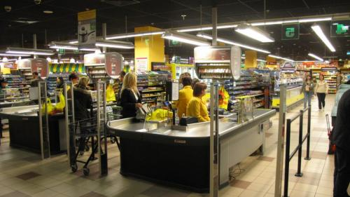 Осветление на супермаркет Пикадили Сердика, град София / Осветление на магазини