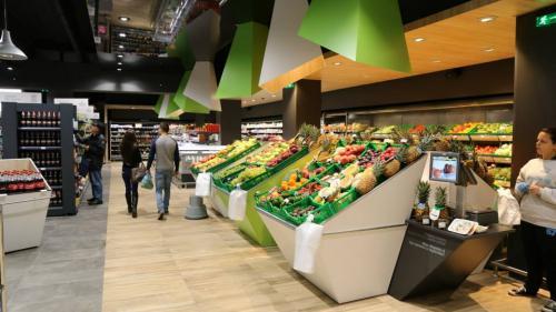 Проектиране, доставка и монтаж на осветление Супермаркет VMV / Осветление на магазини